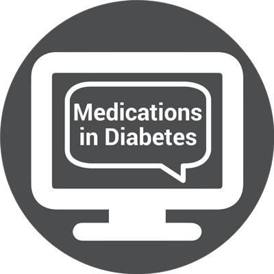 Icon for WEBINAR: Let's Talk About Medications in Diabetes