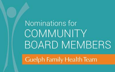 Seeking Nominations for Community Board Members