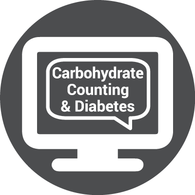 Icon for WEBINAR: Let's Talk About Carbohydrate Counting & Diabetes