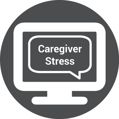 Icon for WEBINAR: Let's Talk About Caregiver Stress