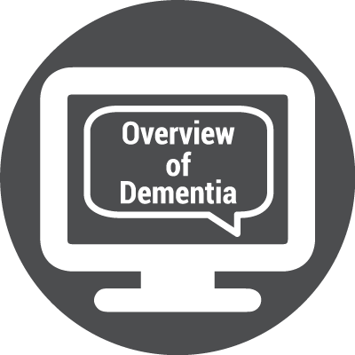 Icon for WEBINAR: Let's Talk About Overview of Dementia