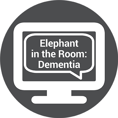 Icon for WEBINAR: The Elephant in the Room – Why People Don't Want to Talk About Dementia